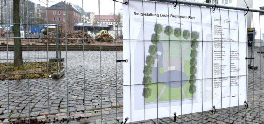 Lucie-Flechtmann-Platz Umgestaltung Schlie