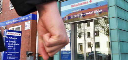 Die Gewalt an Bremer Kliniken steigt an. Foto: Schlie