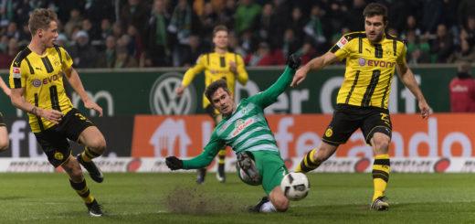 Wird Werder nicht nur am kommenden Sonntag fehlen: der verletzte Fin Bartels Foto: Nordphoto