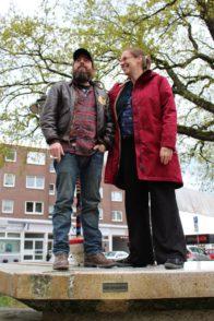Die Initiatoren: Mirko Borscht und Natalie Driemeyer.
