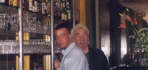 Knoxx und Sohn Lars standen häufig gemeinsam hinter dem Tresen. Foto: pv