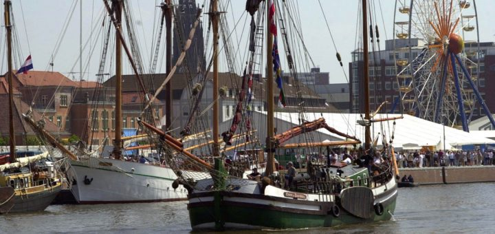 Jede Menge kleine und große Schiff gibt es ab morgen in Bremerhaven zu bestaunen. Foto: WR