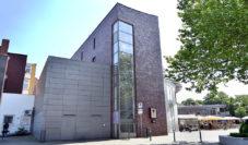 Am ehemaligen Standort der Spitzgiebel-Bauten entstand das Neue Fitgerhaus. Foto: Konczak