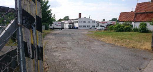 Die Pläne des Investors sehen vor, den Schlachthof abzureißen und zwei neue Gebäude zu errichten. Foto: Harm