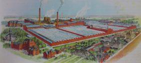 Aus kleinen Anfängen groß geworden: Das Werk Delmenhorst der Jute-Spinnerei und Weberei Bremen im Jahr 1938. Foto: Stadtarchiv Delmenhorst