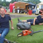 Bei Böttjer Land- und Gartentechnik wird unter anderem über Mähroboter, Akkutechnik für Gartengeräte und den Mietpark informiert. Foto: de Haan