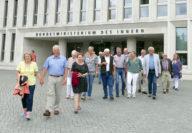 Kurzbesuch im Bundesinnenministerium. Foto: Suhren