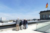 Beindruckender Blick von der Reichtagskuppel. Foto: Suhren