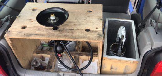 Eine eigenwillige Konstruktion: eine Shisha-Pfeife To Go. Foto: Polizei Bremen