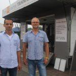 Die Torcenter & Indstrieservice Tannhäuser GmbH zeigt interessierten Besuchern an ihrem Stand Garagen-, Industrie- und Feuerschutztore. Foto: de Haan