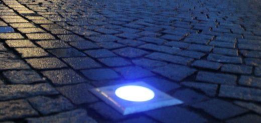 So sollte das blaue Band eigentlich leuchten. Doch immer mehr Leuchten waren defekt. Foto: av