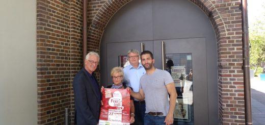 Axel Jahnz, Marianne Hoffmann, Jochem Flege und Alper Samanci (von links) freuen sich auf den Festball. Foto: bsu