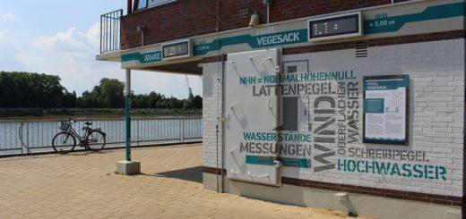 Die Signalstation an der Weser hat ihr Gesicht verändert und ist nun auch eine Gezeitenstation. Foto: Harm