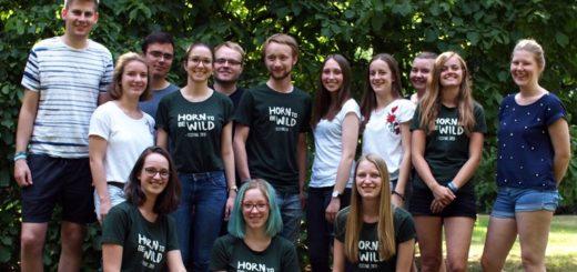 Mitglieder vom Jugendkulturverein Horn organisieren dsa Festival. Foto: pv