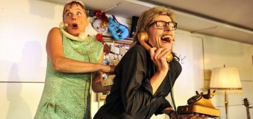 Frauke Wilhelm und Nomena Struß verkörperten wie gewohnt Ramona und Ramon. Foto: Manja Herrmann