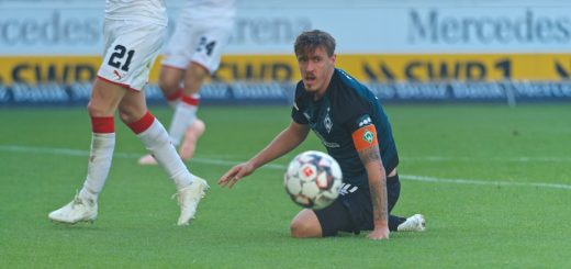 Max Kruse am Boden.