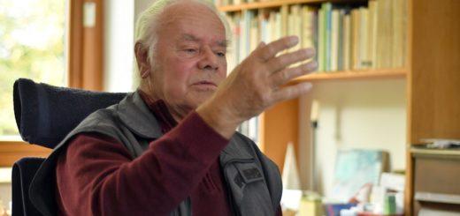 """Hans-Joachim Hespos hat für die Konzertreihe zum 11.11. das """"Klang""""-Ensemble aus Bremen gewinnen können. Foto: Konczak"""