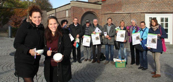 Einige, der am Aktionstag zur Abfallvermeidung beteiligten Akteure, gaben im Vorfeld einen Ausblick auf das, was ihre Initiativen und Vereine am Mittwoch in der Markthalle präsentieren möchten. Foto: nba
