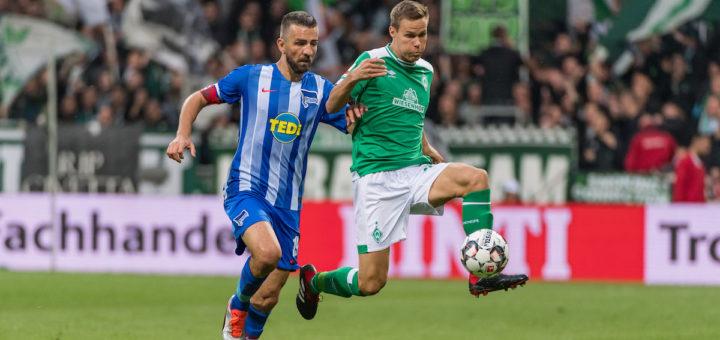 In Werders Defensivzentrum absolut gesetzt: Niklas Moisander (rechts) Foto: Nordphoto