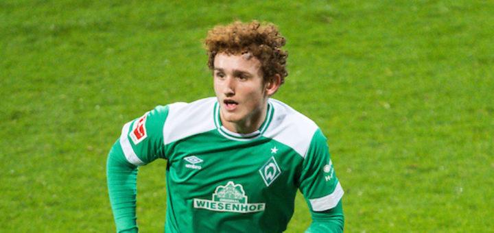 Knipst bei seinem Bundesliga-Debüt als Joker zum 3:1: Werders Josh Sargent Foto: Nordphoto