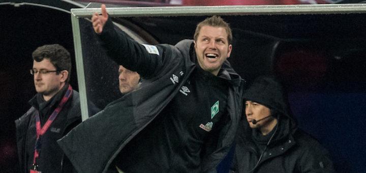 Musste die Niederlage auch mit auf seine Kappe nehmen: Werder-Trainer Florian Kohfeldt Foto: Nordphoto