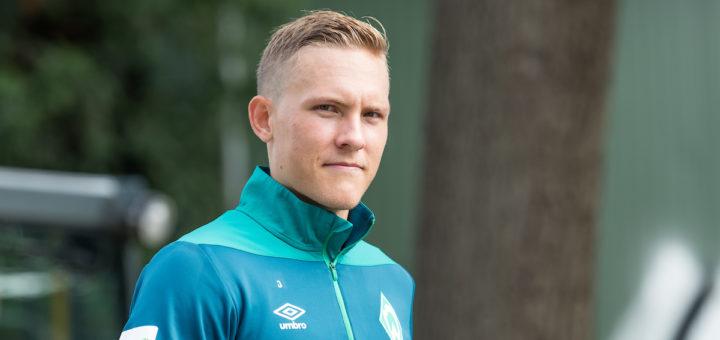 Wenn Ludwig Ausgustinsson gesund ist, ist er in Werders Viererkette gesetzt. Foto: Nordphoto
