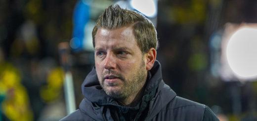 Muss sich was einfallen lassen gegen abstiegsbedrohte Augsburger: Werder-Coach Florian Kohfeldt Foto: Nordphoto