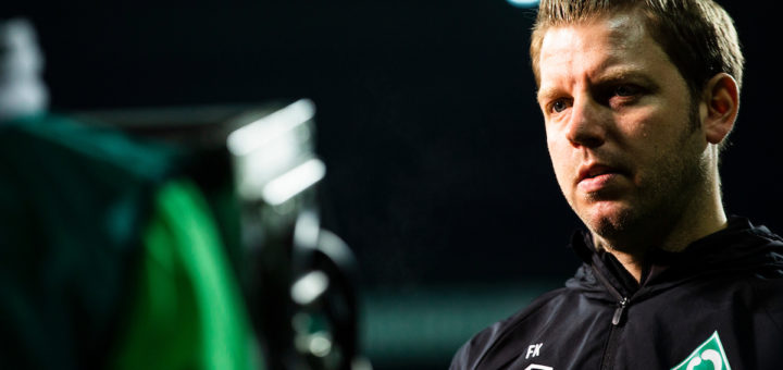 Kann mit dem Ertrag seines Teams oftmals nicht zufrieden sein: Werder-Trainer Florian Kohfeldt Foto: Nordphoto