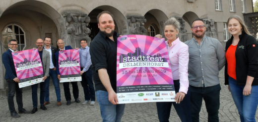 Dank etlicher Sponsoren kann die DWFG ein Stadtfest für Delmenhorst ausrichten. Die City-Sause steigt an drei Tagen, vom 13. bis zum 15. Juni rund um das Rathaus.Foto: Konczak