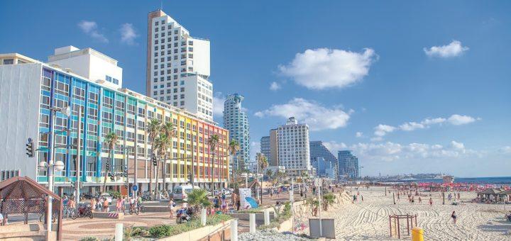Kilometerlang – die Strandpromenade von Tel Aviv. Fotos: Israel Ministry of Tourism