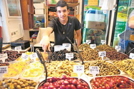Auf den Markt findet man eine große Auswahl an einheimischen Produkten.