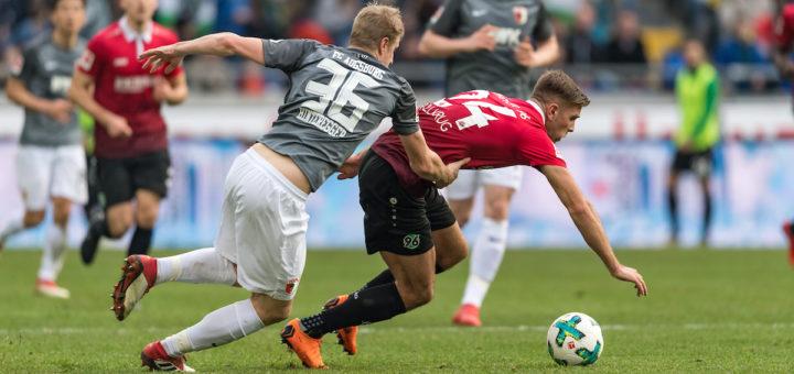 War in der vergangenen Saison mit 14 Treffern erfolgreichster Hannoveraner und könnte auch ein Kandidat für die Nationalmannschaft sein: Niclas Füllkrug. Foto: Nordphoto