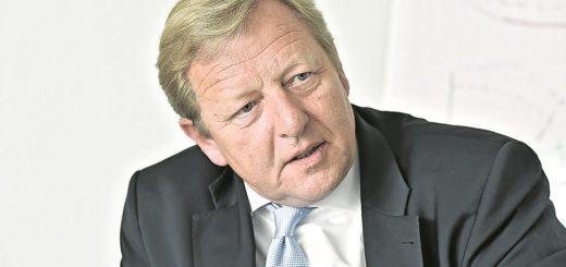 Seit 2011 ist Peter Stubbe Vorstandsvorsitzender der Bremer Wohnungsgesellschaft Gewoba, zuvor war er Geschäftsführer der Leipziger Wohnungs- und Baugesellschaft. Foto: Schlie