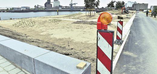 Der Strandpark Waller Sand wird am Mittwoch mit einem Festakt und einer Talkrunde eröffnet. Foto: Schlie