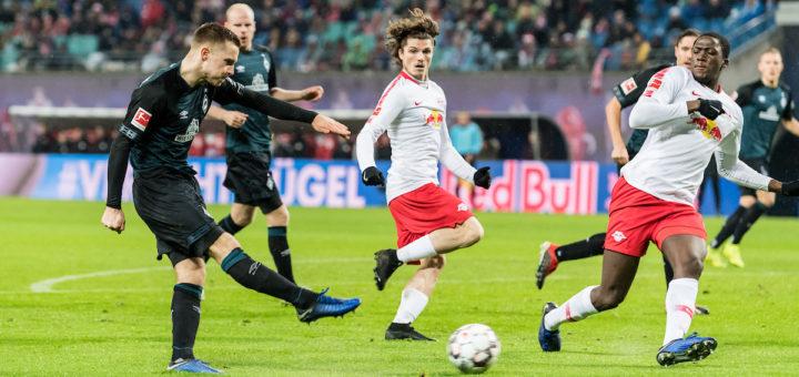 Werder muss gegen Leipzig auf jeden Fall gewinnen, um überhaupt eine Chance auf die Europapokalquali zu bekommen. Foto: Nordphoto