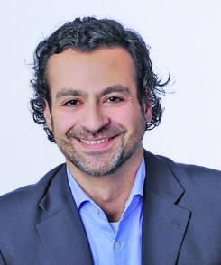 Nima Pirooznia, Gesundheitspolitischer Sprecher der Grünen. Foto: pv
