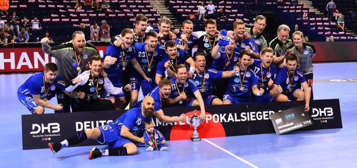 Im April hat der ATSV Habenhausen den DHB-Amateur-Pokal gewonnen. Jetzt tragen sie eines der Erst- und Zweitrunden-Turniere aus und sind gespannt, welche Mannschaften nach Bremen kommen. Foto: Nils Conrad