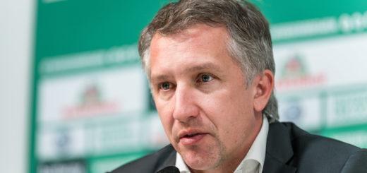 Hat in finanzieller Hinsicht feste Vorsätze: Werder-Sportchef Frank Baumann Foto: Nordphoto