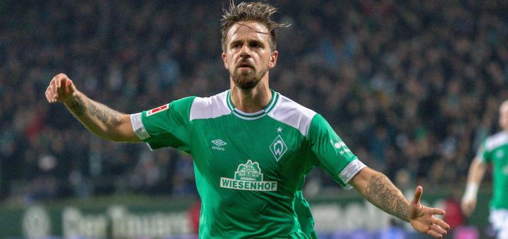 Vielleicht jubelt er bald im Trikot von Zweitligist Hamburger SV: Werder-Stürmer Martin Harnik Foto: Nordphoto