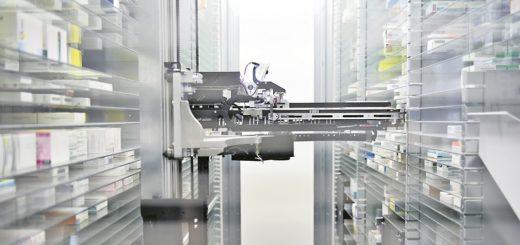 Apotheke, Sortiermaschine, Foto: WR