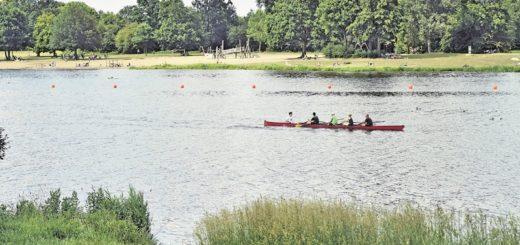 Ruderboot auf dem Werdersee