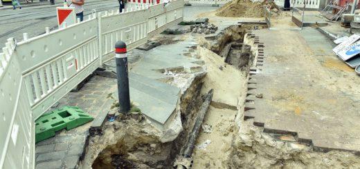 Bauarbeiten Domsheide