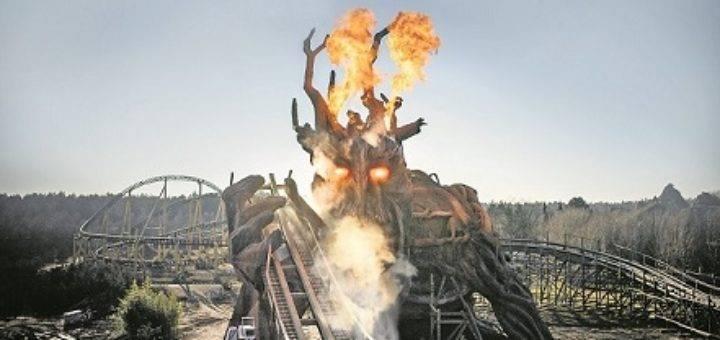 Colossos – Europas höchste und schnellste Holzachterbahn Foto: Heide Park Resort