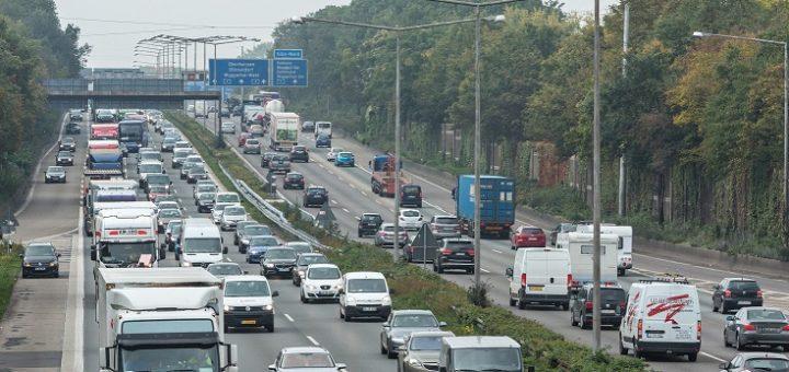 Viel los auf den Autobahnen.Foto: ADAC/Stefan Kiefer