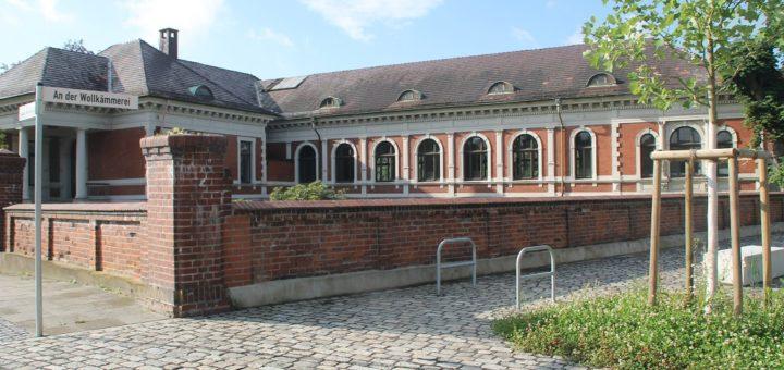 Das Gelände der Bremer Wollkämmerei ist nicht nur historisch wertvoll, sondern auch wirtschaftlich. Inzwischen haben sich dort viele Betriebe angesiedelt. Archivfoto: WR