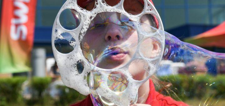 """Jede Menge Spaß erwartet die Besucher am ,,Tag des Wassers""""Foto: Rillke/Sandelmann"""