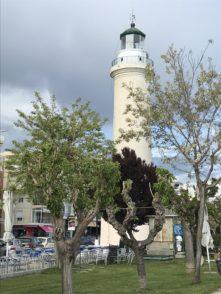 Der Leuchtturm von Alexandroupolis