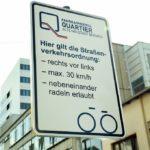 Die Regeln in der Fahrradzone sind einfach und leicht zu merken.