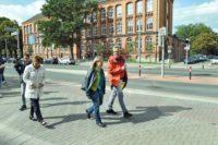 Die Querung an der Langemarckstraße ist das zweite Sahnehäubchen.