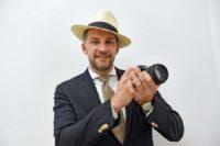 Ein Fotograf und Gentleman: Szymon Stefanowicz. Foto: Schlie